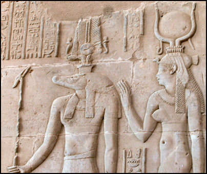 Sobek and Hathor