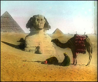 Giza and Sphinx